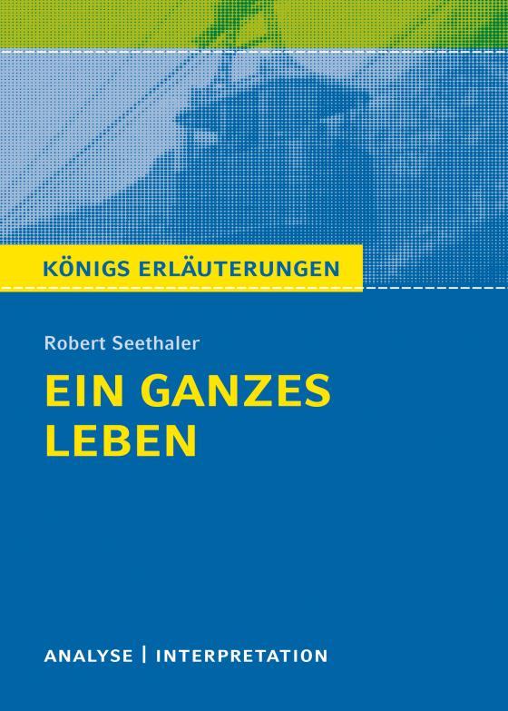 Cover-Bild Ein ganzes Leben von Robert Seethaler.