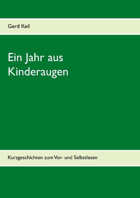 Cover-Bild Ein Jahr aus Kinderaugen