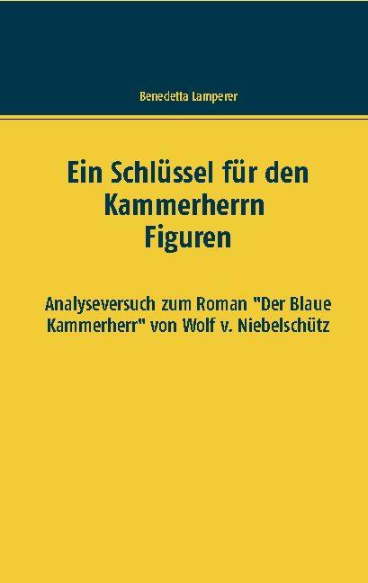 Cover-Bild Ein Schlüssel für den Kammerherrn Figuren