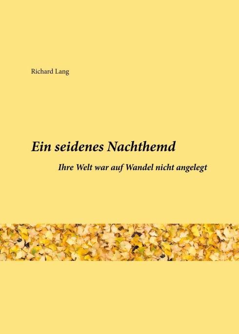 Cover-Bild Ein seidenes Nachthemd