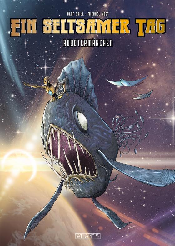 Cover-Bild Ein seltsamer Tag - Robotermärchen
