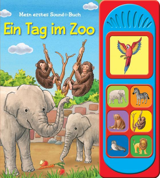 Cover-Bild Ein Tag im Zoo - Soundbuch
