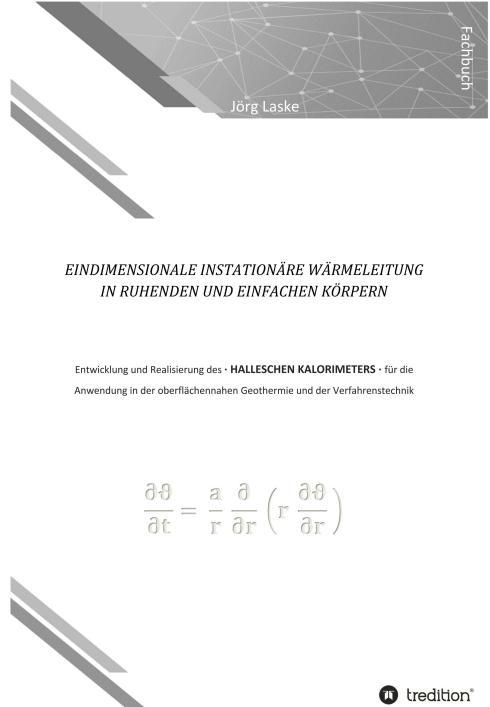 Cover-Bild Eindimensionale und instationäre Wärmeleitung in ruhenden und einfachen Körpern