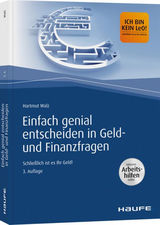 Cover-Bild Einfach genial entscheiden in Geld- und Finanzfragen - Arbeitshilfen zum Download