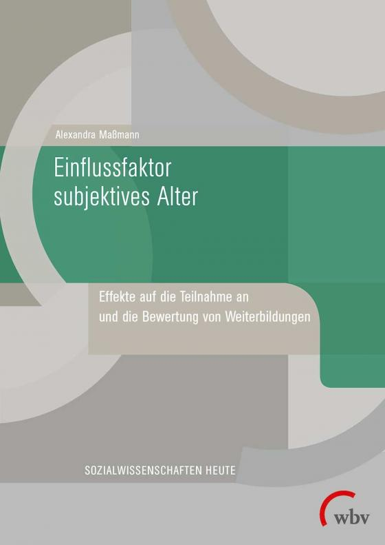 Cover-Bild Einflussfaktor subjektives Alter
