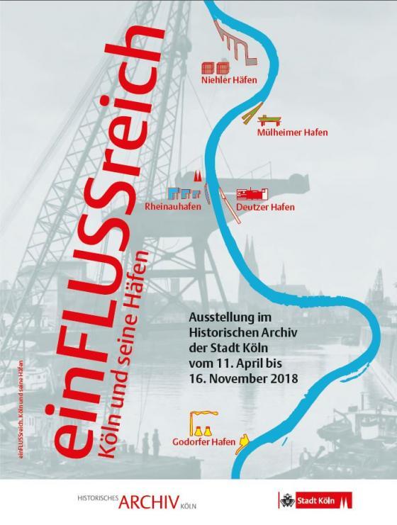 Cover-Bild einFLUSSreich. Köln und seine Häfen