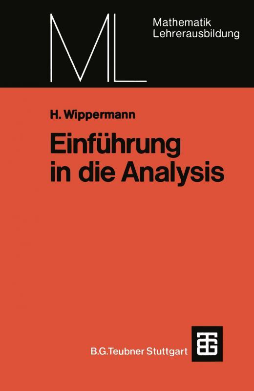 Cover-Bild Einführung in die Analysis