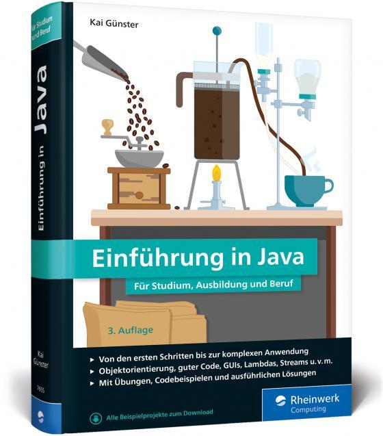 Cover-Bild Einführung in Java