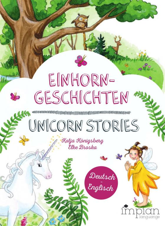Cover-Bild Einhorngeschichten / Unicorn Stories