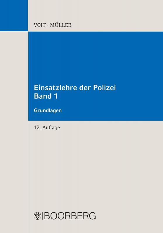 Cover-Bild Einsatzlehre der Polizei