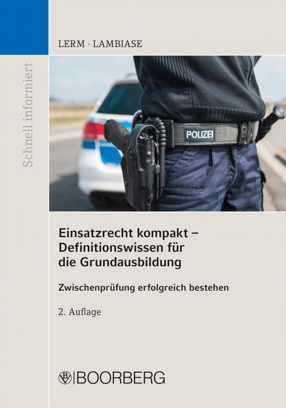 Cover-Bild Einsatzrecht kompakt - Definitionswissen für die Grundausbildung