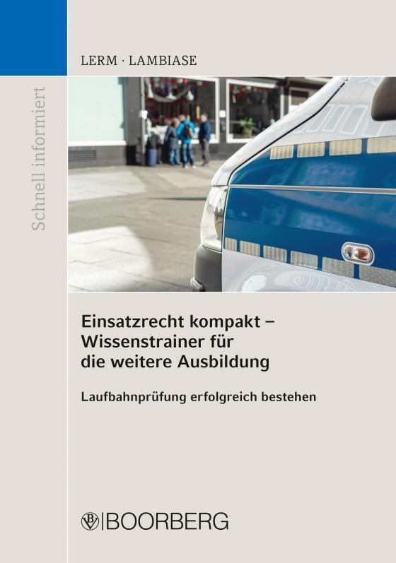 Cover-Bild Einsatzrecht kompakt - Wissenstrainer für die weitere Ausbildung