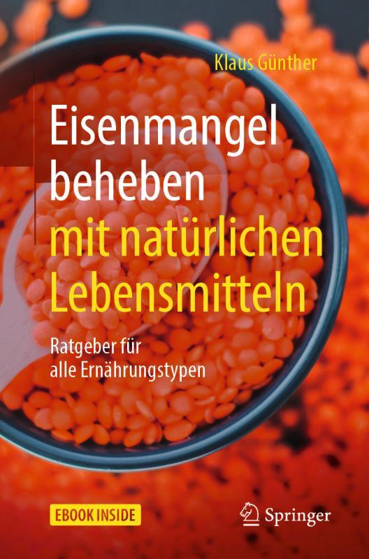 Cover-Bild Eisenmangel beheben mit natürlichen Lebensmitteln