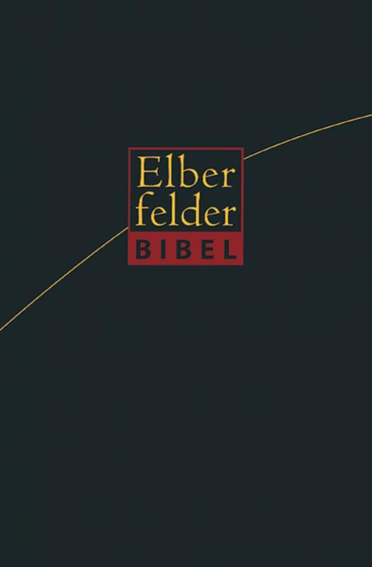 Cover-Bild Elberfelder Bibel - Standardausgabe Leder Goldschnitt
