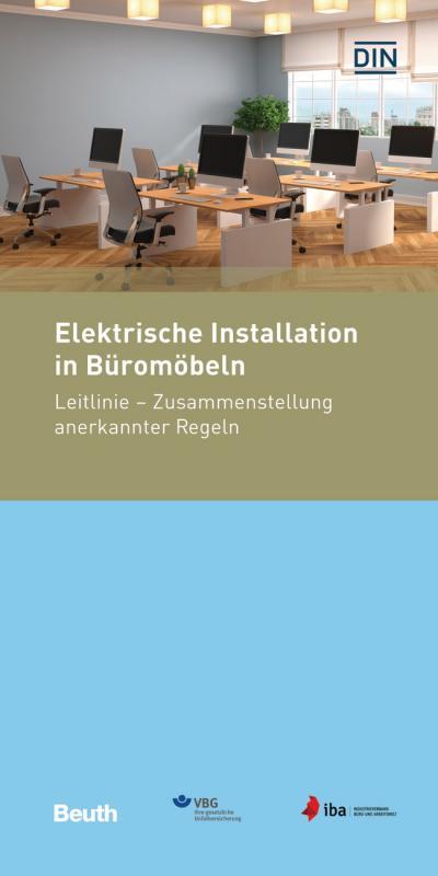 Cover-Bild Elektrische Installation in Büromöbeln
