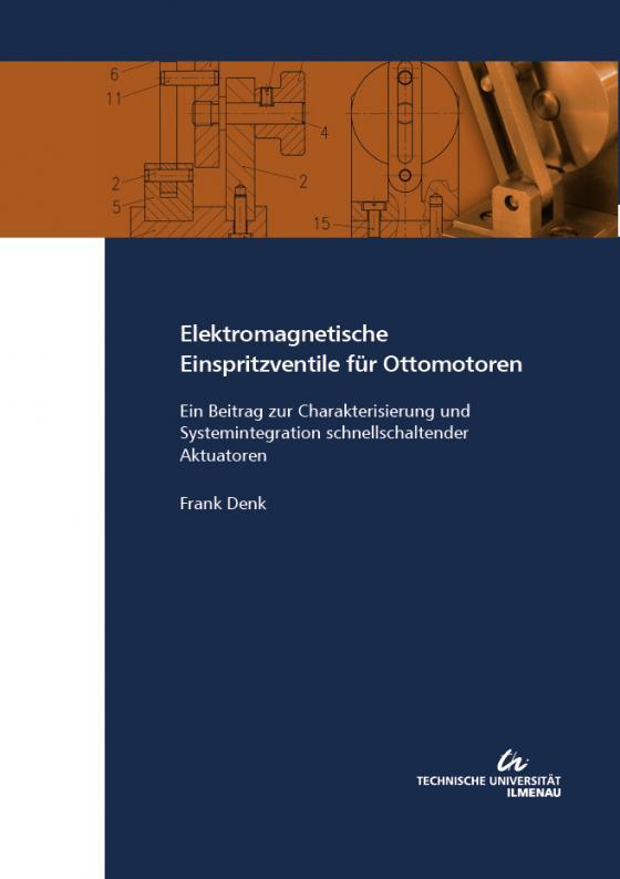 Cover-Bild Elektromagnetische Einspritzventile für Ottomotoren