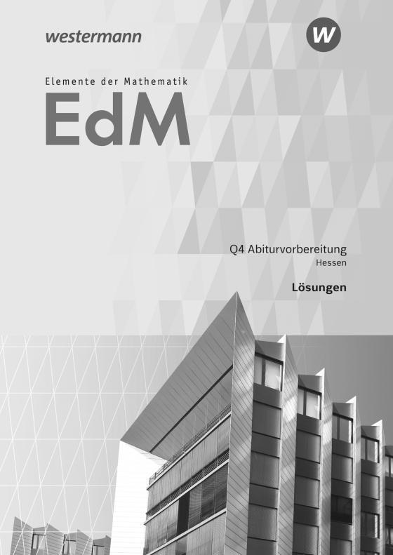 Cover-Bild Elemente der Mathematik SII / Elemente der Mathematik SII - Ausgabe 2016 für Hessen