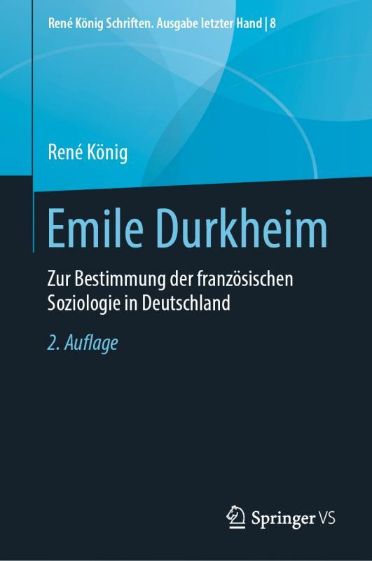 Cover-Bild Emile Durkheim