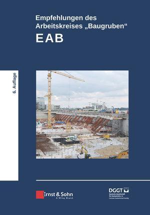 """Cover-Bild Empfehlungen des Arbeitskreises """"Baugruben"""" (EAB)"""