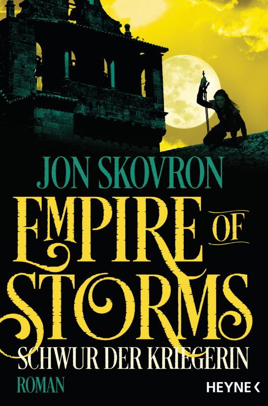Cover-Bild Empire of Storms - Schwur der Kriegerin