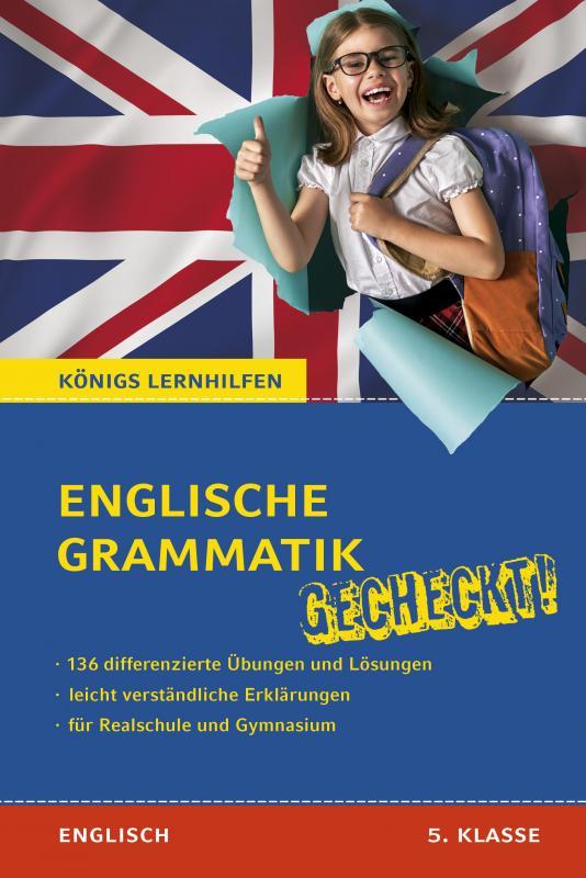 Cover-Bild Englische Grammatik gecheckt! 5. Klasse