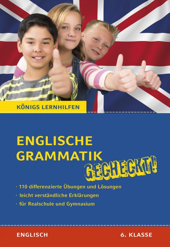 Cover-Bild Englische Grammatik gecheckt! 6. Klasse