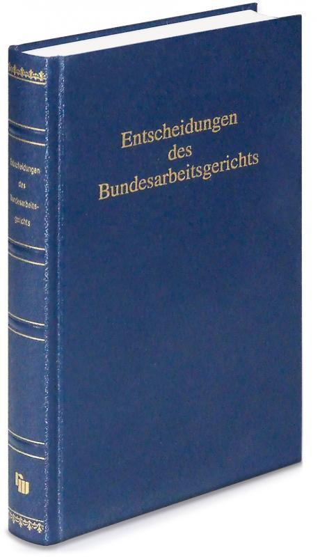Cover-Bild Entscheidungen des Bundesarbeitsgerichts (BAGE 171)