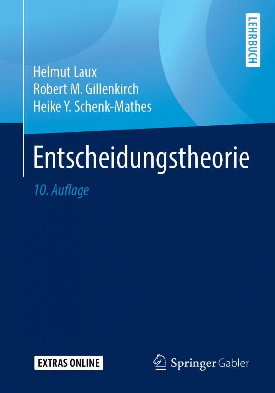 Cover-Bild Entscheidungstheorie