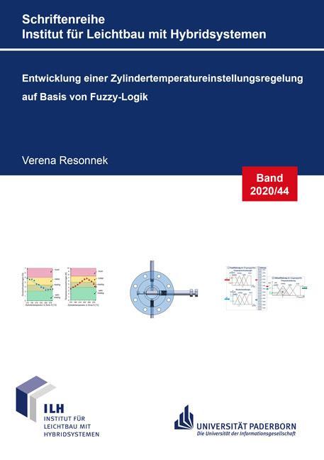 Cover-Bild Entwicklung einer Zylindertemperatureinstellungsregelung auf Basis von Fuzzy-Logik