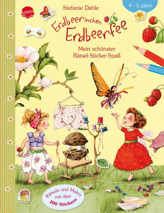 Cover-Bild Erdbeerinchen Erdbeerfee. Mein schönster Rätsel-Sticker-Spaß