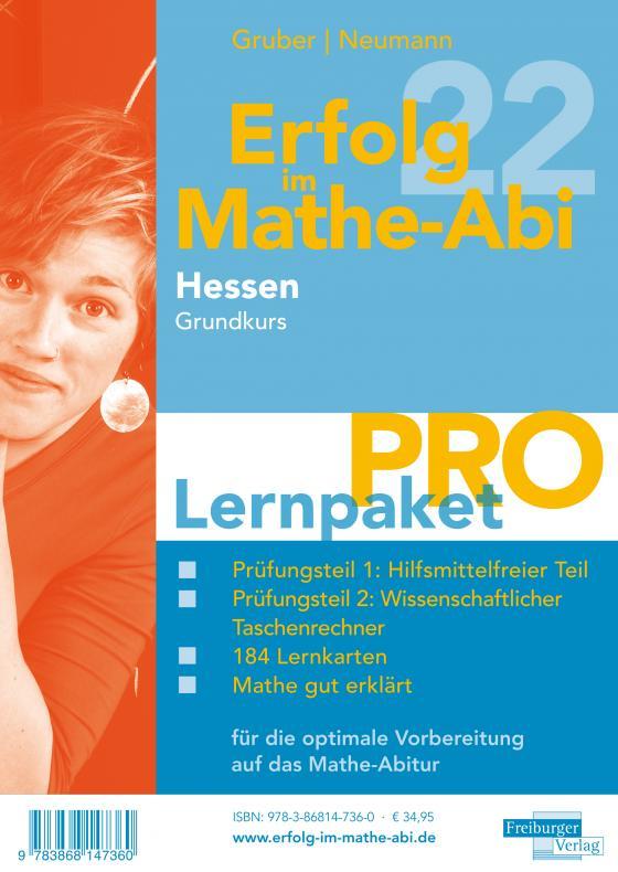 Cover-Bild Erfolg im Mathe-Abi 2022 Hessen Lernpaket 'Pro' Grundkurs