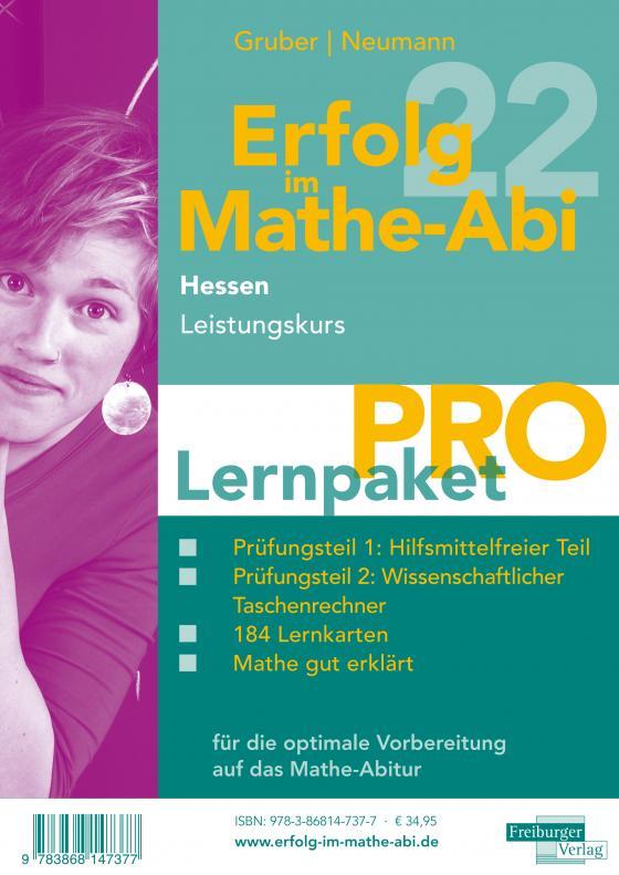 Cover-Bild Erfolg im Mathe-Abi 2022 Hessen Lernpaket 'Pro' Leistungskurs