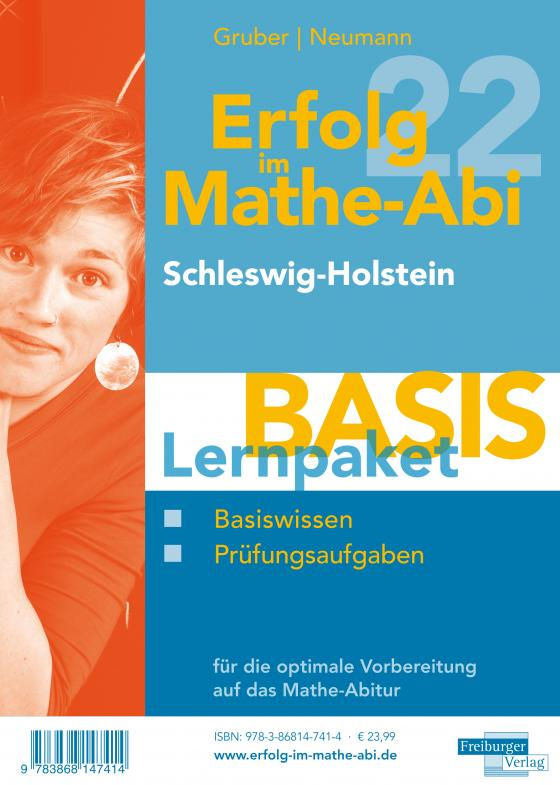 Cover-Bild Erfolg im Mathe-Abi 2022 Lernpaket 'Basis' Schleswig-Holstein