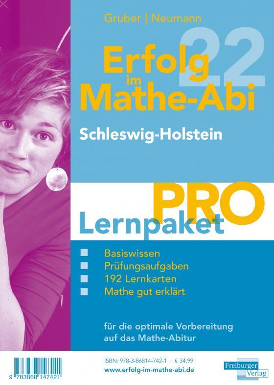 Cover-Bild Erfolg im Mathe-Abi 2022 Lernpaket 'Pro' Schleswig-Holstein