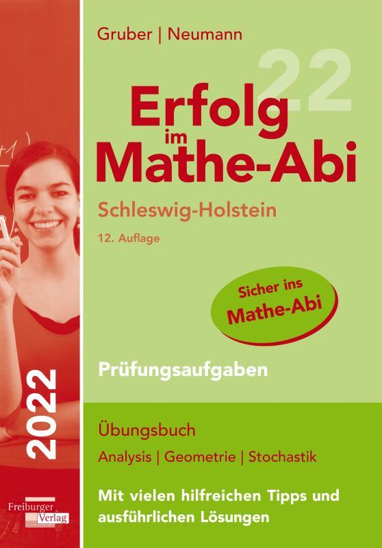 Cover-Bild Erfolg im Mathe-Abi 2022 Schleswig-Holstein Prüfungsaufgaben