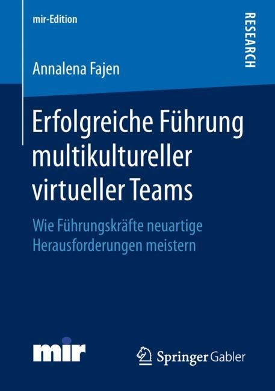 Cover-Bild Erfolgreiche Führung multikultureller virtueller Teams