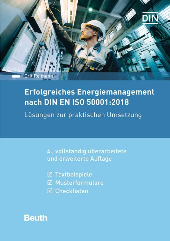 Cover-Bild Erfolgreiches Energiemanagement nach DIN EN ISO 50001:2018