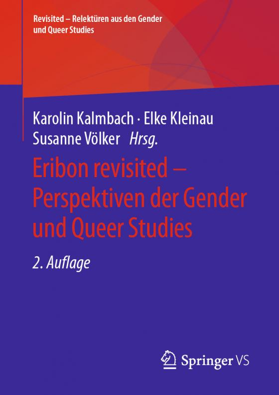 Cover-Bild Eribon revisited – Perspektiven der Gender und Queer Studies