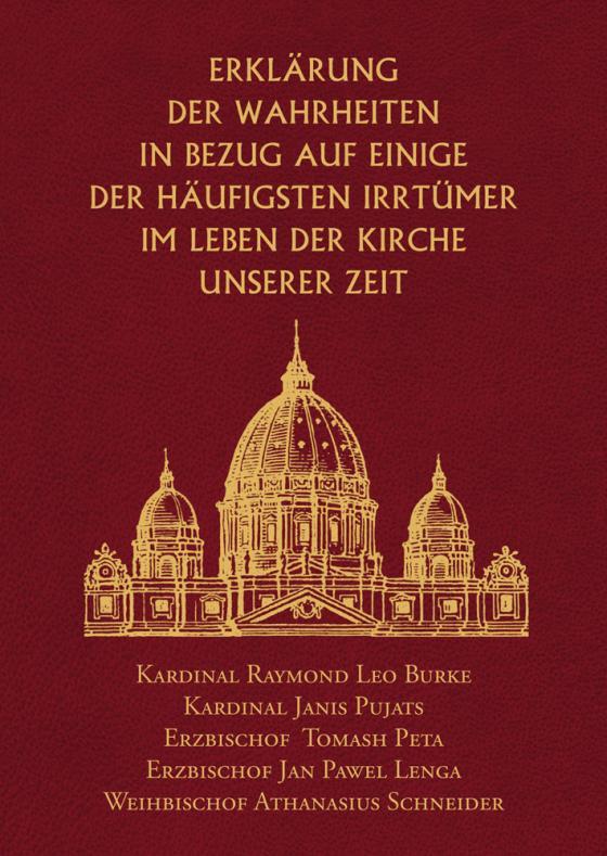 Cover-Bild Erklärung der Wahrheiten in Bezug auf einige der häufigsten Irrtümer im Leben der Kirche unserer Zeit