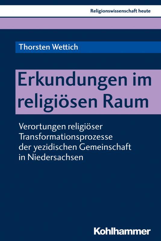 Cover-Bild Erkundungen im religiösen Raum