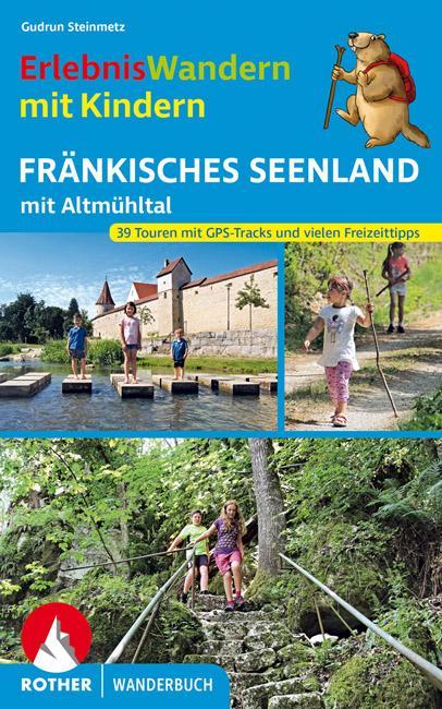 Cover-Bild ErlebnisWandern mit Kindern Fränkisches Seenland