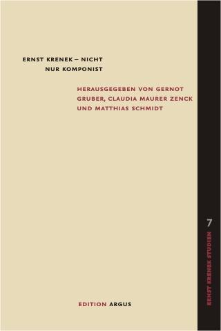 Cover-Bild Ernst Krenek - nicht nur Komponist