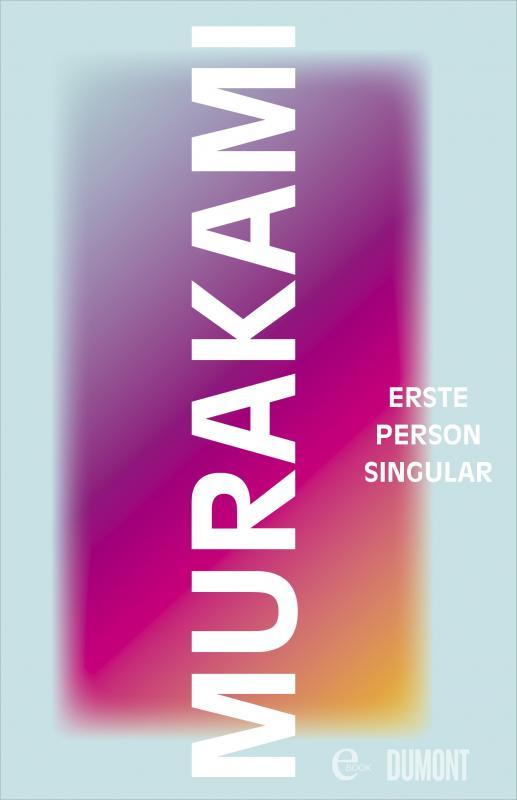 Cover-Bild Erste Person Singular