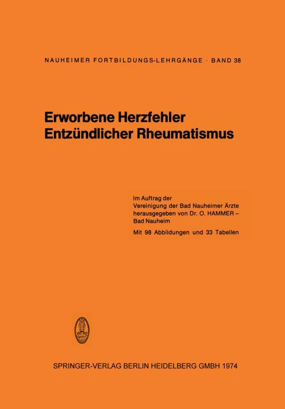 Cover-Bild Erworbene Herzfehler Entzündlicher Rheumatismus