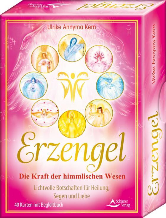Cover-Bild Erzengel – Die Kraft der himmlischen Wesen – Lichtvolle Botschaften für Heilung, Segen und Liebe Kartenset