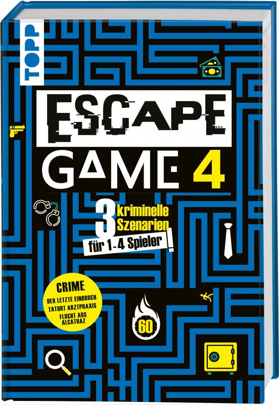Cover-Bild Escape Game 4 CRIME