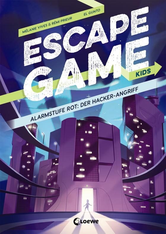 Cover-Bild Escape Game Kids - Alarmstufe Rot: Der Hackerangriff