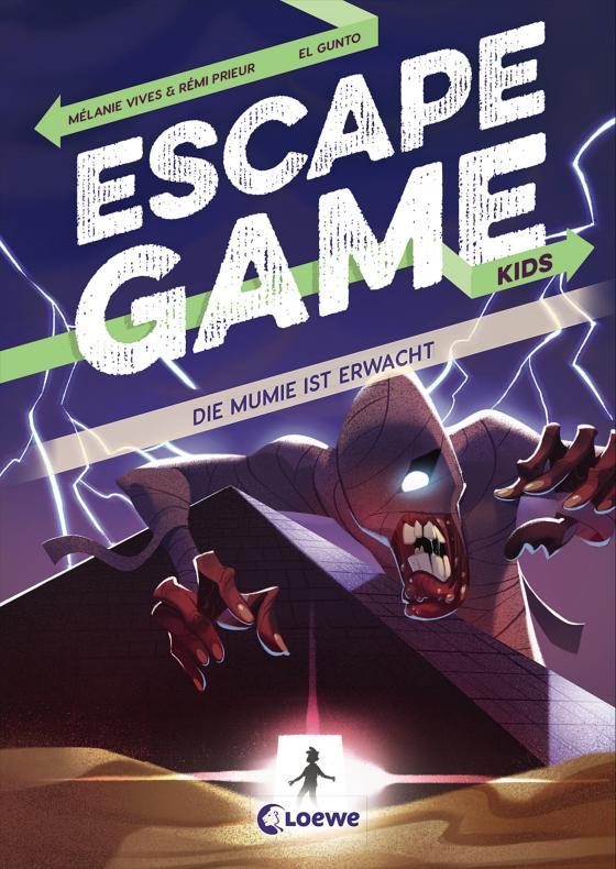 Cover-Bild Escape Game Kids - Die Mumie ist erwacht