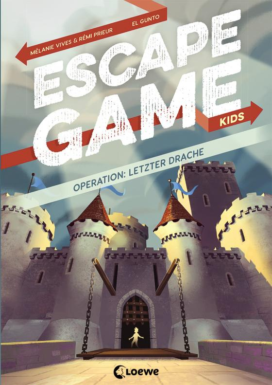 Cover-Bild Escape Game Kids - Operation: Letzter Drache