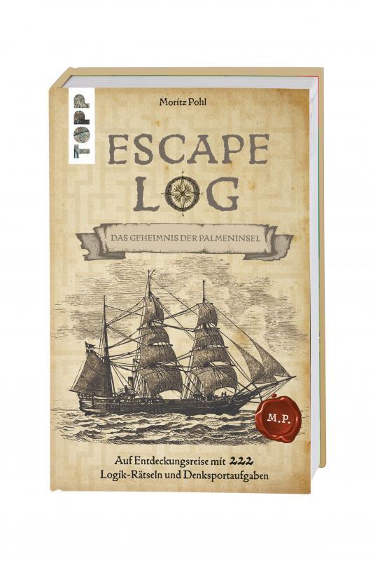 Cover-Bild Escape Log - Die Truhe des Kapitäns